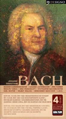 Johann Sebastian Bach (1685-1750): Brandenburgische Konzerte Nr.3 & 5, 4 CDs