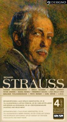 Richard Strauss (1864-1949): Metamorphosen für 23 Solostreicher, 4 CDs