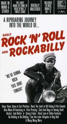 Early Rock'n'Roll And Rockabilly, 4 CDs