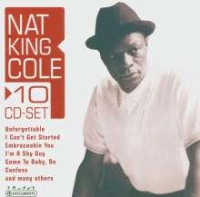 Nat King Cole (1919-1965): Nat King Cole, 10 CDs