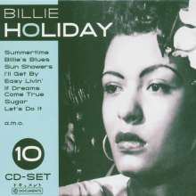 Billie Holiday (1915-1959): Billie Holiday (Wallet-Box), 10 CDs