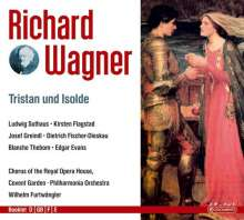 Richard Wagner (1813-1883): Tristan und Isolde, 4 CDs