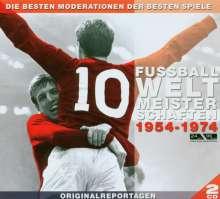 Fußballweltmeisterschaften 1954 - 1974, 2 CDs