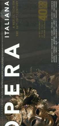 Opera Italiana (Operngesamtaufnahmen), 40 CDs