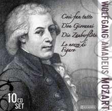 Wolfgang Amadeus Mozart (1756-1791): 4 Mozart-Opern, 10 CDs
