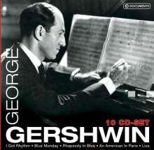 George Gershwin (1898-1937): George Gershwin, 10 CDs