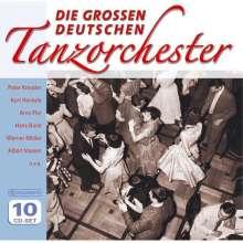 Die großen deutschen Tanzorchester (Wallet-Box), 10 CDs