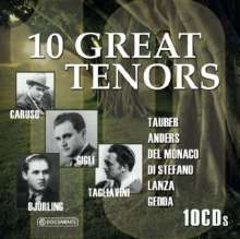 10 Great Tenors, 10 CDs