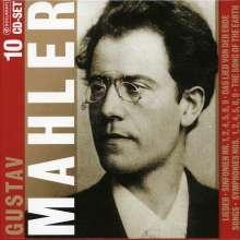 Gustav Mahler (1860-1911): Gustav Mahler, 10 CDs
