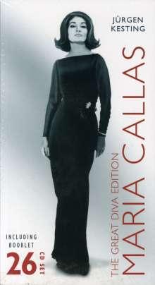 Maria Callas - The Great Diva Edition, 26 CDs