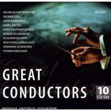 Great Conductors, 10 CDs