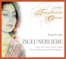 Franz Lehar (1870-1948): Zigeunerliebe, 2 CDs