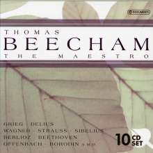 Thomas Beecham - The Maestro, 10 CDs