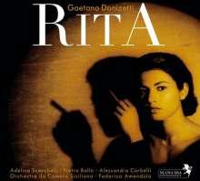 Gaetano Donizetti (1797-1848): Rita, CD