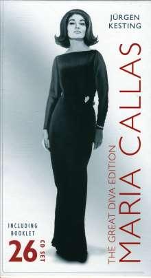 Maria Callas: A Diva's Glory Days, 26 CDs
