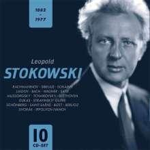 Leopold Stokowski, 10 CDs