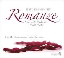 "Francesco  Paolo Tosti (1846-1916): Lieder ""Romanze"", 2 CDs"