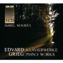 Edvard Grieg (1843-1907): Klavierwerke, 5 CDs