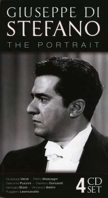Giuseppe di Stefano - The Portrait, 4 CDs
