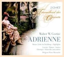 Walter Goetze (1883-1961): Adrienne, 2 CDs