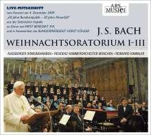 Johann Sebastian Bach (1685-1750): Weihnachtsoratorium BWV 248 (Kantaten 1-3), CD