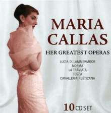 Maria Callas - Her Great Operas, 10 CDs
