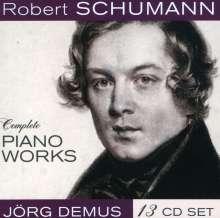 Robert Schumann (1810-1856): Sämtliche Klavierwerke, 13 CDs