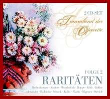 Traumland der Operette - Raritäten Vol.2, 2 CDs