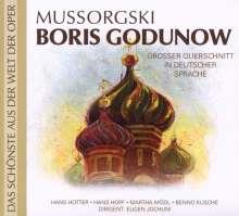 Modest Mussorgsky (1839-1881): Boris Godunow (Querschnitt in deutscher Sprache), CD