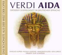 Giuseppe Verdi (1813-1901): Aida (Querschnitt in deutscher Sprache), CD