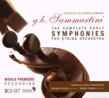 Giovanni Battista Sammartini (1701-1775): Die frühen Symphonien, 3 CDs