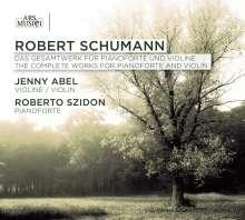 Robert Schumann (1810-1856): Werke für Violine & Klavier, 2 CDs