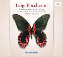 Luigi Boccherini (1743-1805): Streichquartette op.8,6;op.26,4;op.32,5;, CD