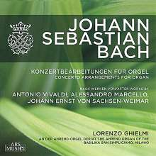 Johann Sebastian Bach (1685-1750): Orgelkonzerte BWV 592-594,596,974,978, CD
