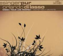 Orlando di Lasso (Lassus) (1532-1594): Missa Tous les regrets, CD