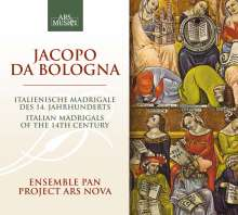 Jacopo da Bologna: Madrigale, CD