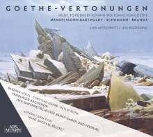 Freiburger Bachchor - Goethe-Vertonungen, CD