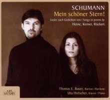 """Robert Schumann (1810-1856): Lieder """"Mein schöner Stern!"""", CD"""