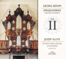 Georg Böhm (1661-1733): Orgelwerke Vol.2, CD