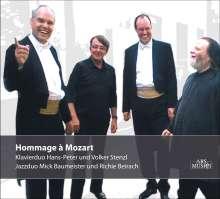 Wolfgang Amadeus Mozart (1756-1791): Hommage a Mozart - Musik für Klavier 4-händig, CD
