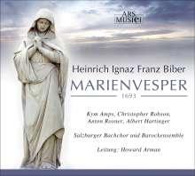 Heinrich Ignaz Biber (1644-1704): Marienvesper 1693, CD
