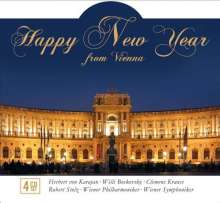 Happy New Year from Vienna, 4 CDs