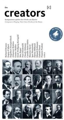 Creators - Komponisten spielen eigene Werke am Klavier, 10 CDs