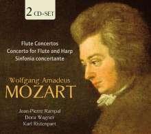 Wolfgang Amadeus Mozart (1756-1791): Flötenkonzerte Nr.1 & 2, 2 CDs