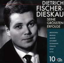 Dietrich Fischer-Dieskau - Seine größten Erfolge, 10 CDs