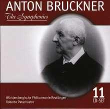 Anton Bruckner (1824-1896): Symphonien Nr.0-9, 11 CDs