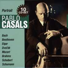 Pablo Casals - Portrait, 10 CDs