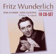 Fritz Wunderlich - Eine Stimme/Eine Legende, 10 CDs