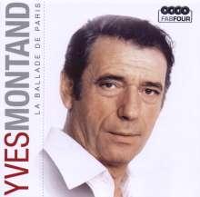 Yves Montand: La Ballade De Paris (Box-Set), 4 CDs