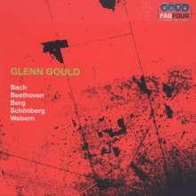 Glenn Gould - Bach / Beethoven / Berg / Schönberg / Webern, 4 CDs